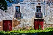 Rural door and window