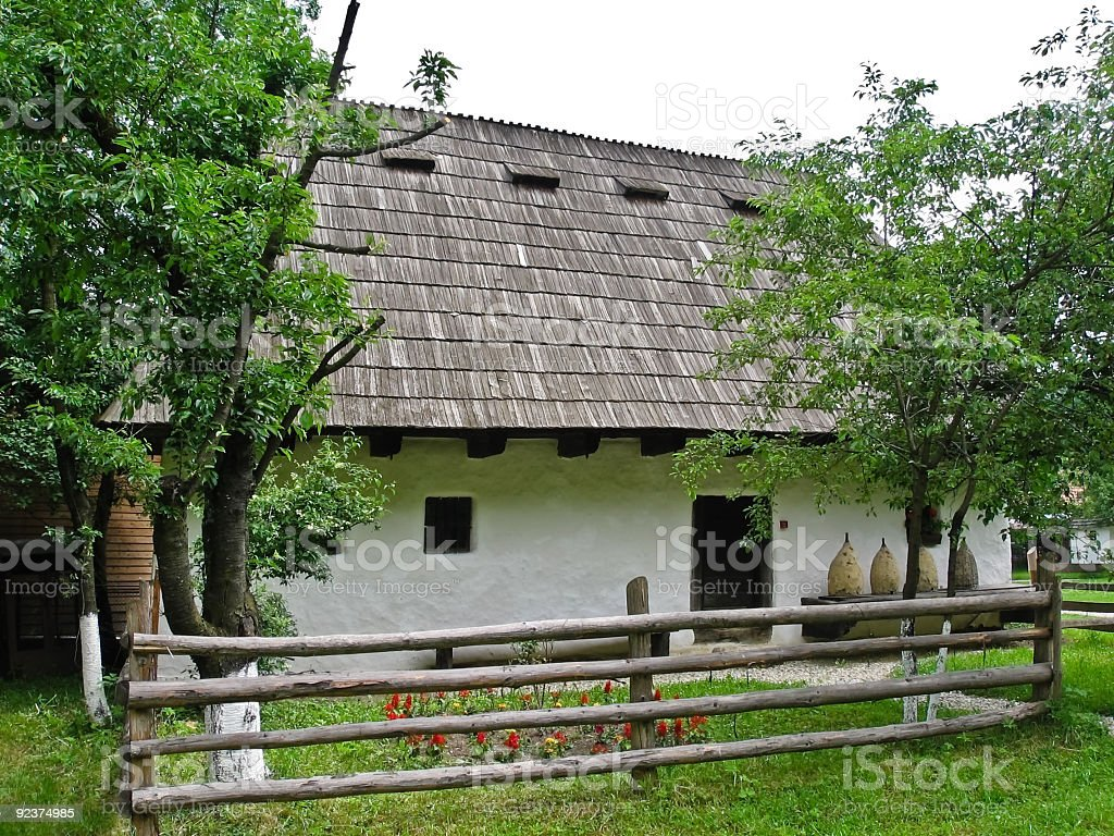 Old rural house royalty-free stock photo