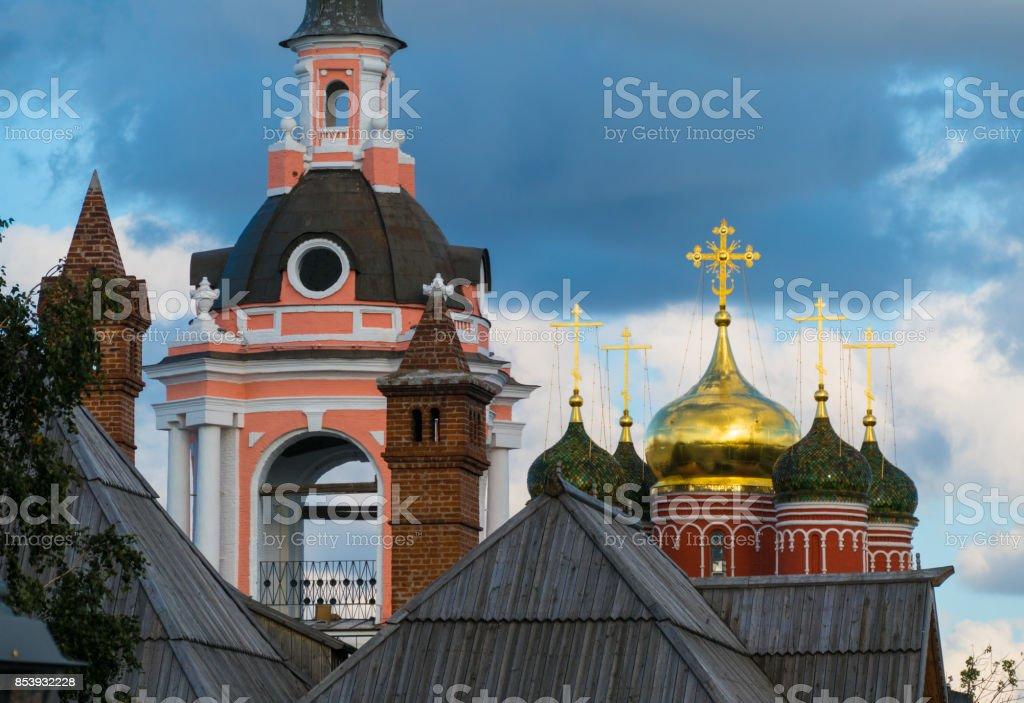 Old Russian Christian Church stock photo