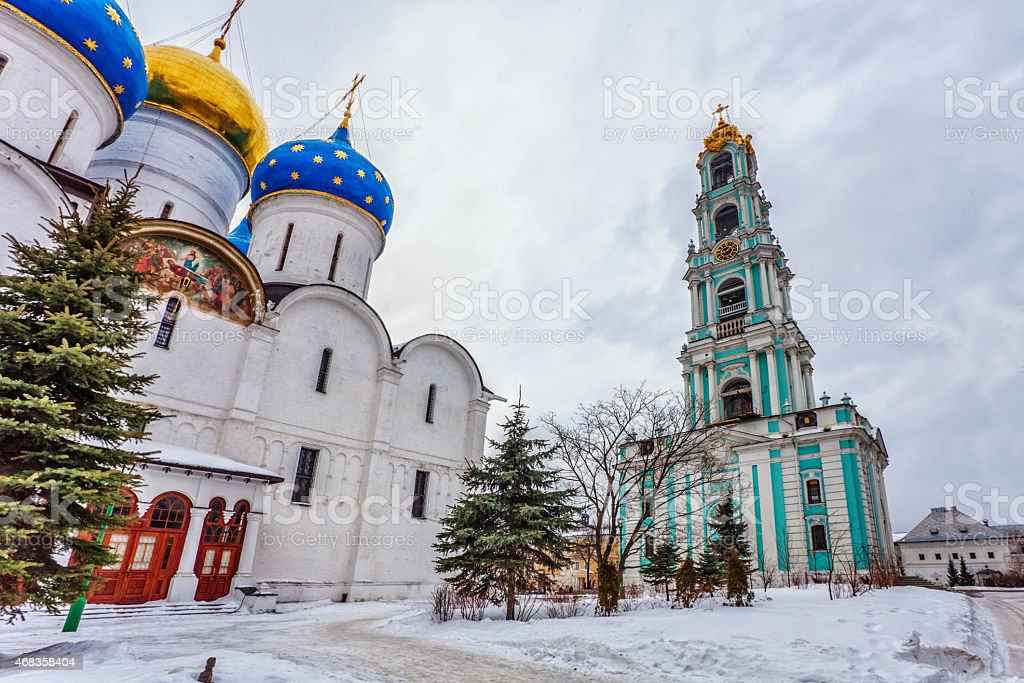Old Russian church royalty-free stock photo