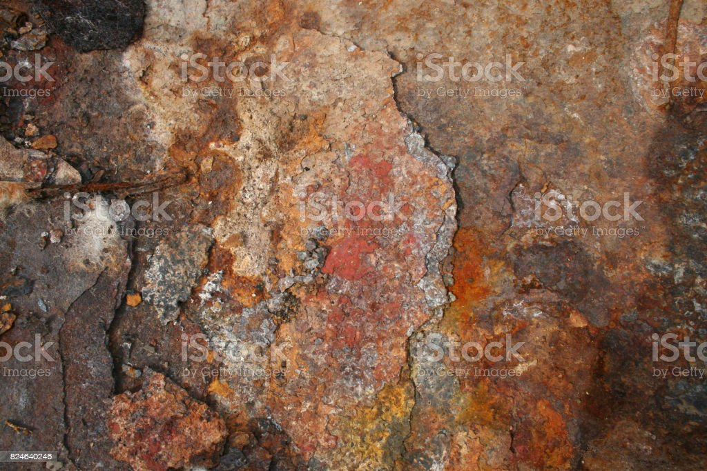 Old rust texture background stock photo