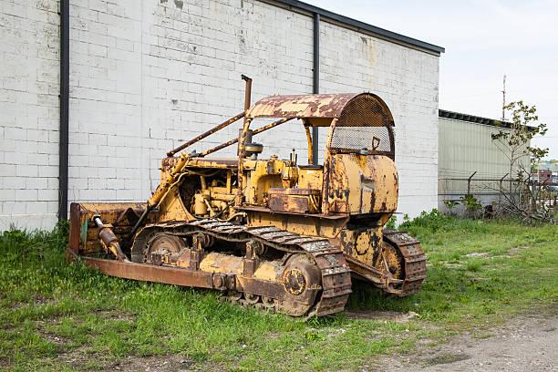 Alte verrostete Bulldozer – Foto
