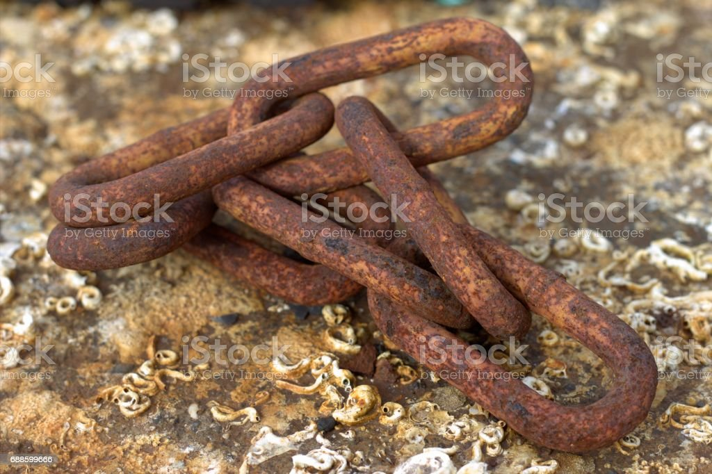 Old rusted iron stock photo
