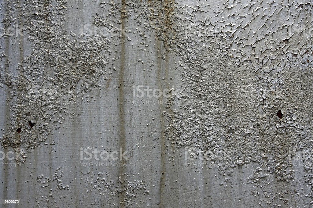 Old Rusted Paint for Industrial Background royalty-free stock photo