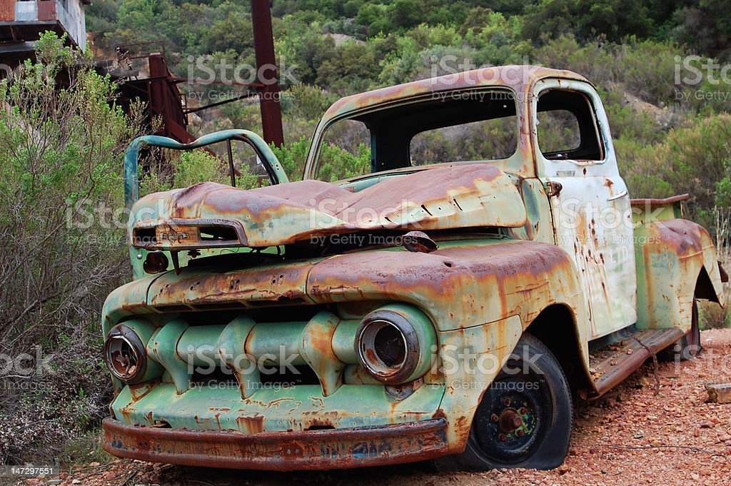 Old Rusted Truck royalty-free stock photo