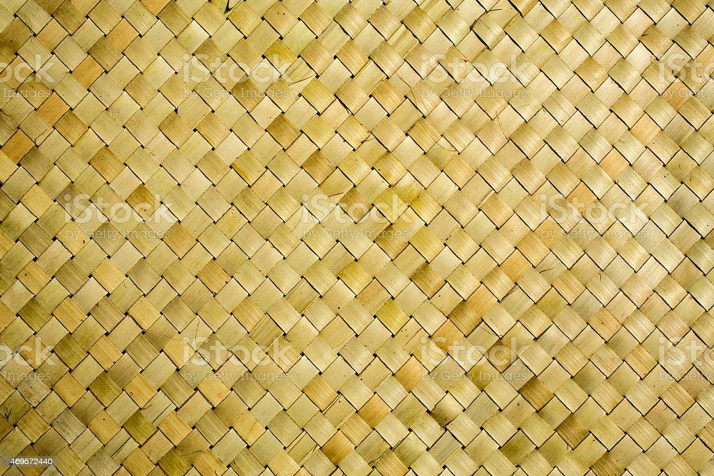 Alte Rustikale Bambusmatte Textur Hintergrund Stock Fotografie Und