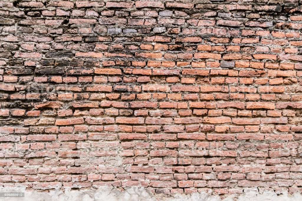 Old Rustic Brick Wall Texture Background Royalty Free Stock Photo