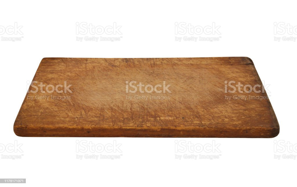 Old Rustic Cutting Board Isolated On White Stock Photo Download Image Now Istock