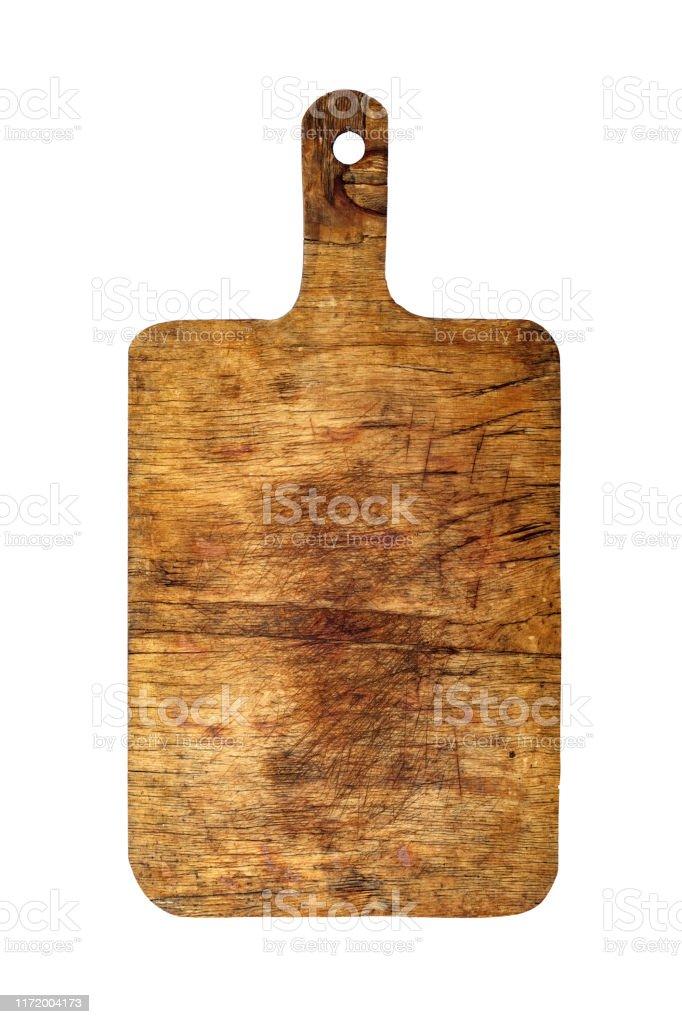 Photo Libre De Droit De Vieille Planche De Cuisine En Bois