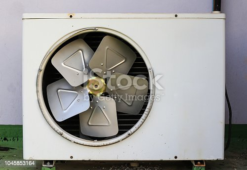 1132460292istockphoto Old rusty air conditioner. wall background 1045853164