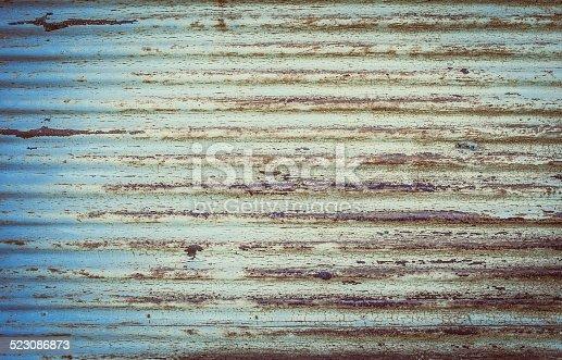Old rusty Door detail