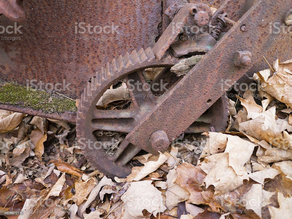 Old Rusty Equipment royalty-free stock photo