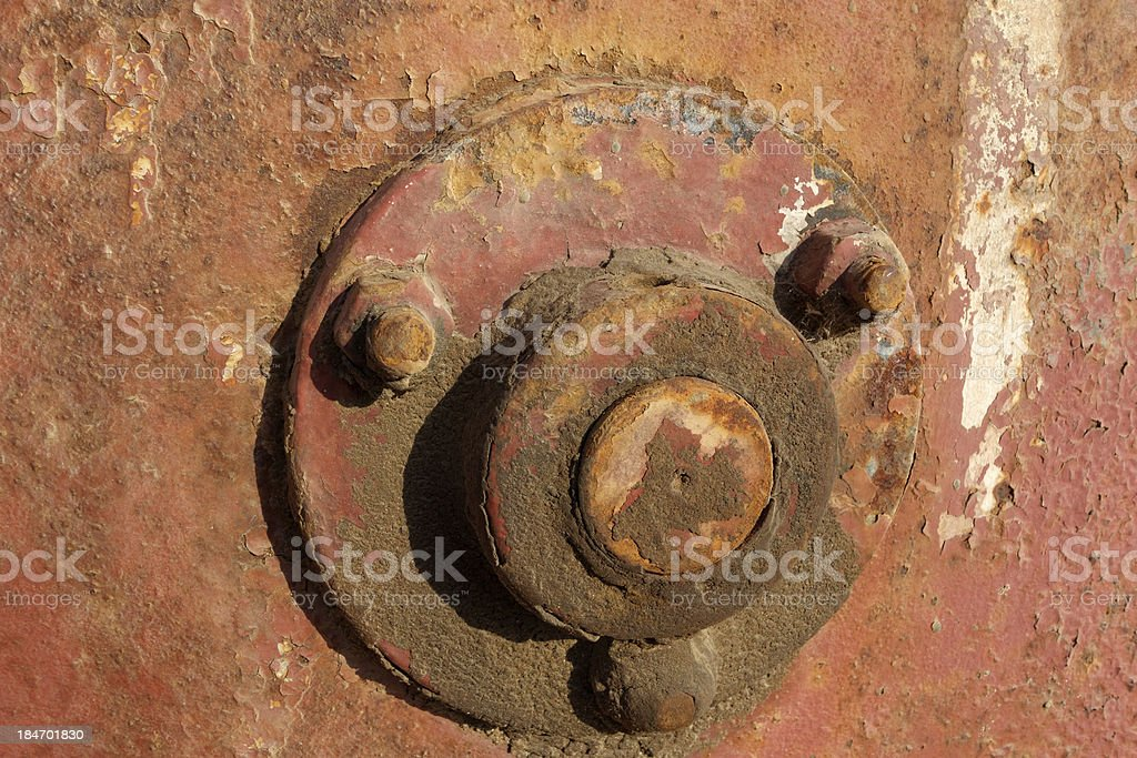 Old rusty gears, machinery parts. royalty-free stock photo