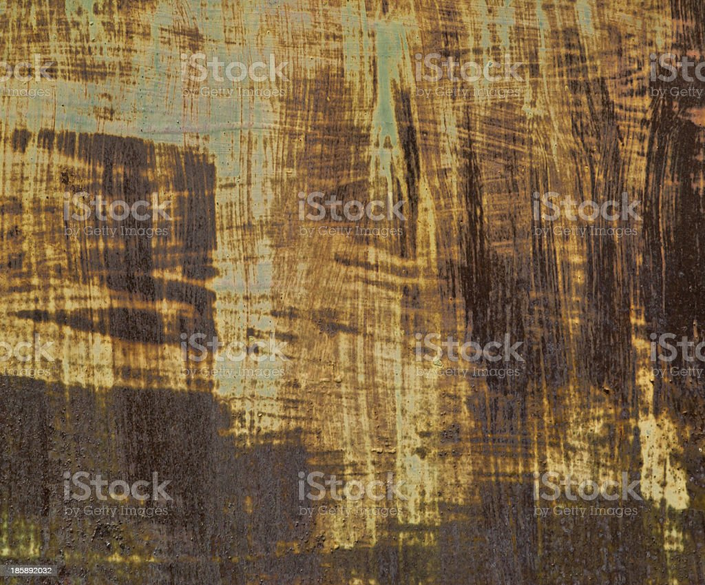 Old rusty iron texture, natural background royalty-free stock photo
