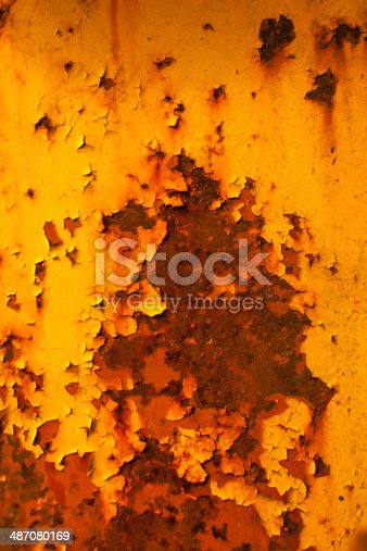 Old rusty iron texture