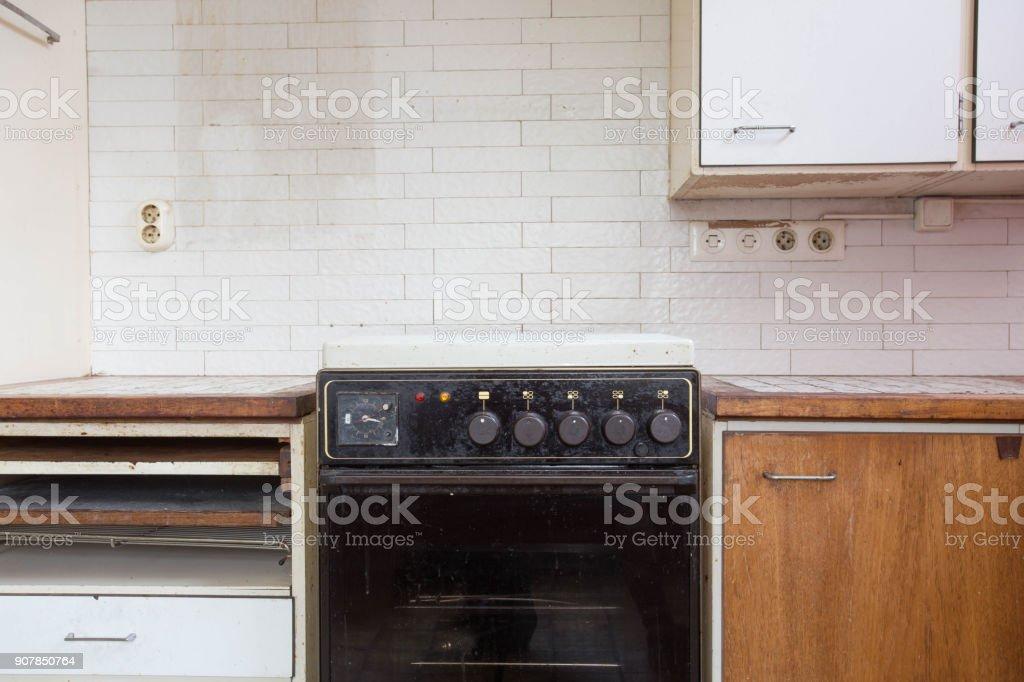 Alte rostige Küche – Foto