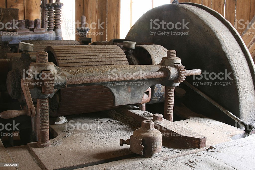 Old rusty machine royalty-free stock photo