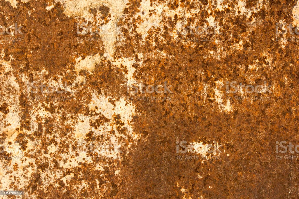 Old rusty matallic wall texture royalty-free stock photo