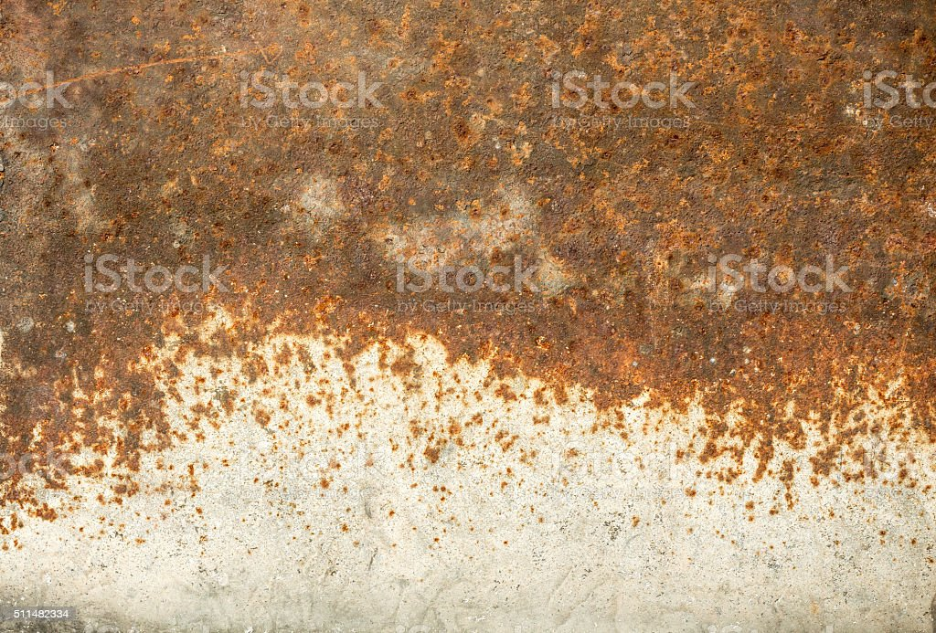 Old rusty metal background stock photo
