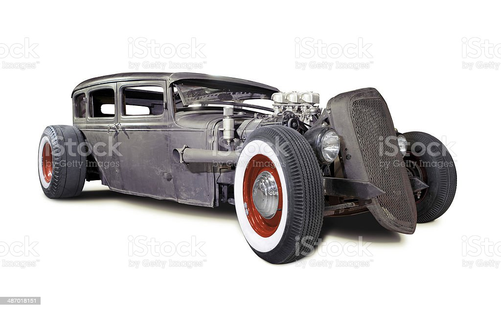 Old Rusty Rat Rod Stock Photo & More Pictures of Car | iStock