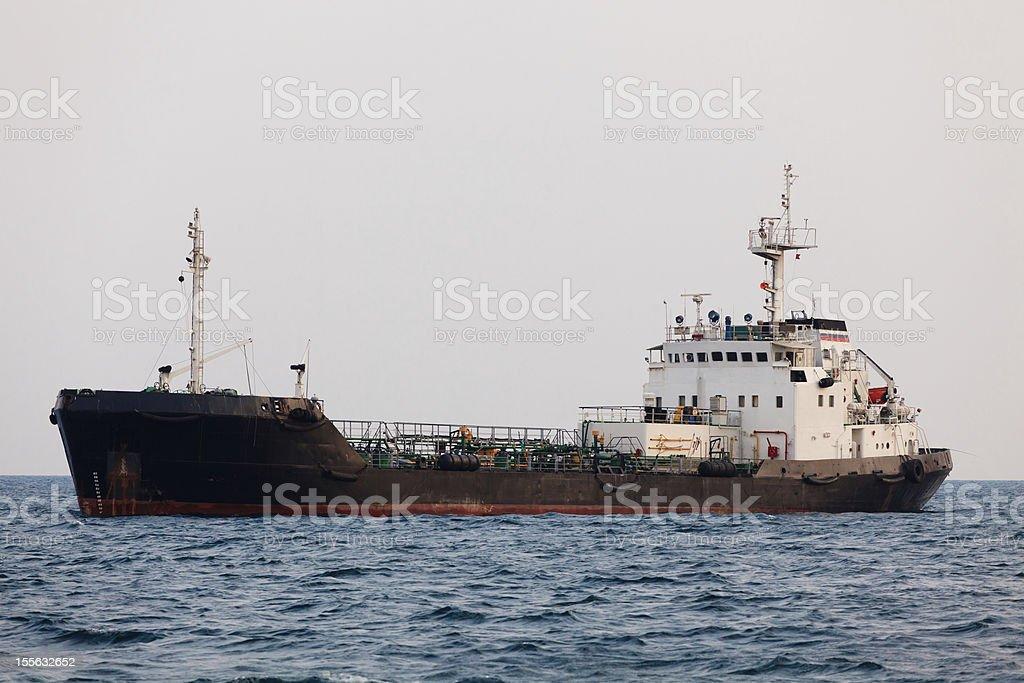 Old rusty ship royalty-free stock photo
