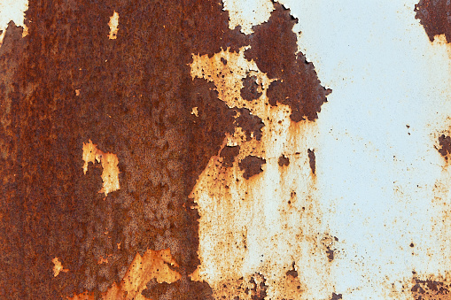 Stains, Paint, Metal, Rust