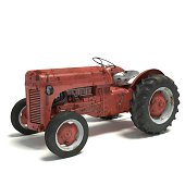 istock Old Rusty Tractor 469800455