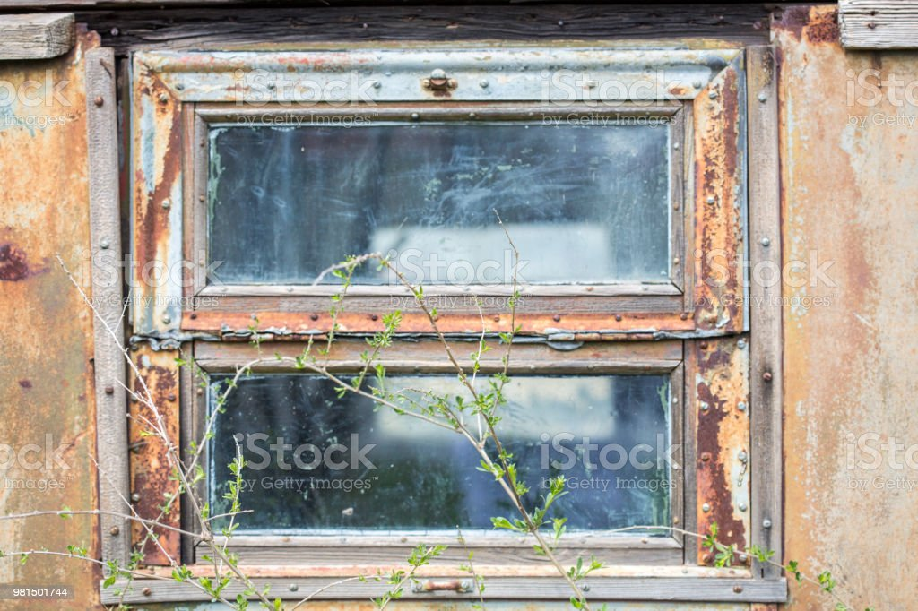 Old Rusty Window Old Wooden Window With Traces Of Rust Stock Photo Download Image Now Istock