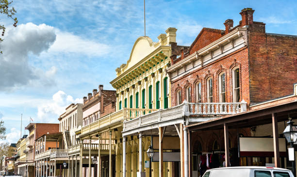 Old Sacramento Historic District in Kalifornien – Foto