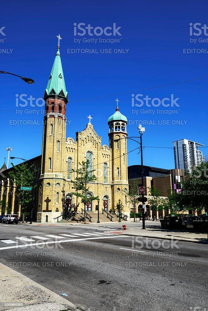 Vieille église Saint-Patrick, un point de repère de Chicago - Photo