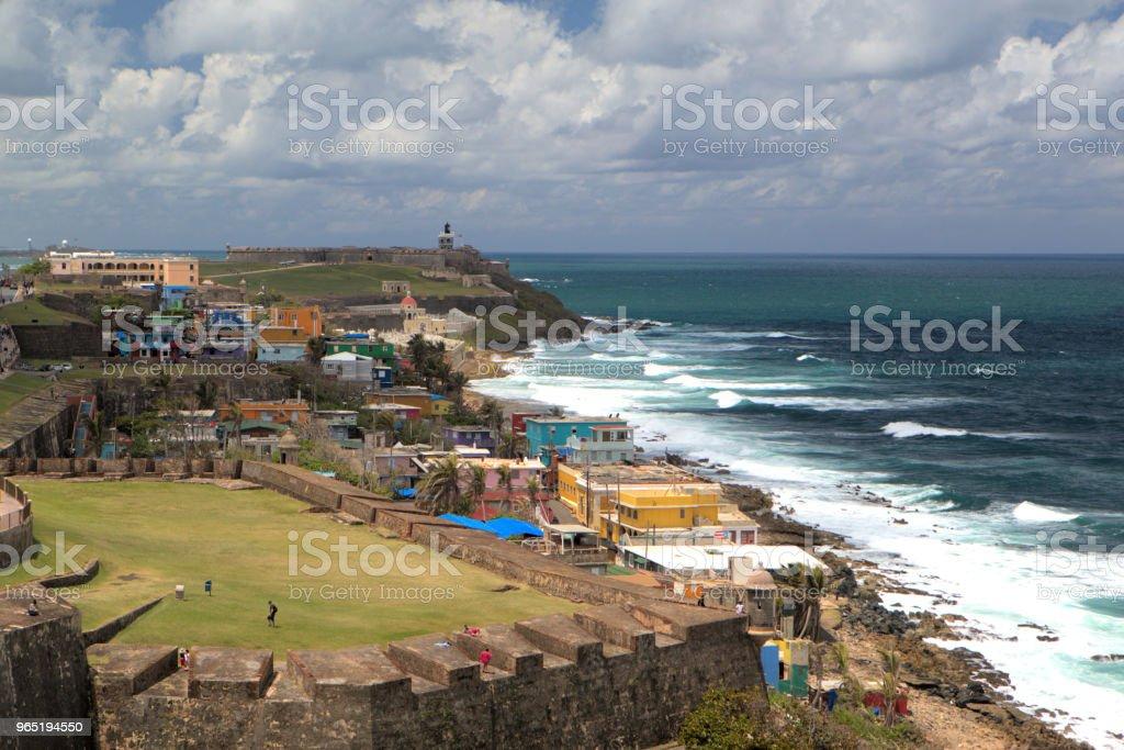 Old San Juan royalty-free stock photo