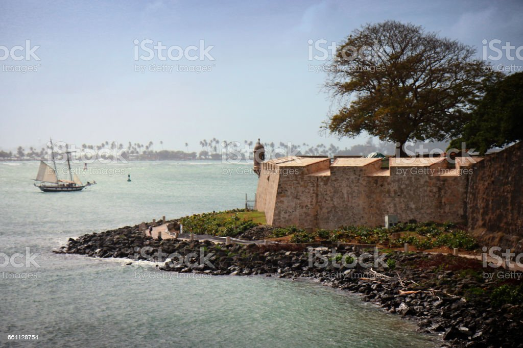 Old San Juan, Puerto Rico foto stock royalty-free