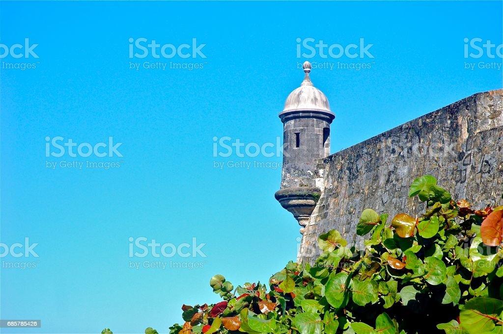 Old San Juan, Puerto Rico royalty-free stock photo