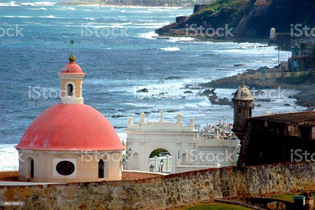 Old San Juan, Puerto Rico foto de stock libre de derechos