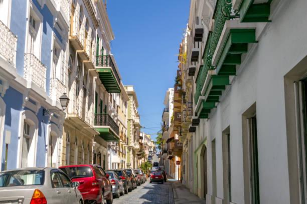 Old San Juan Puerto Rico stock photo