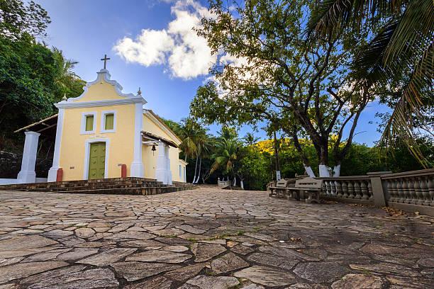 Old Sanctuary in Coqueiro Seco city, Alagoas state, Brazil. – Foto