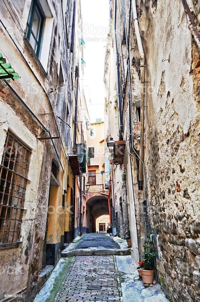 Old Sanremo City stock photo