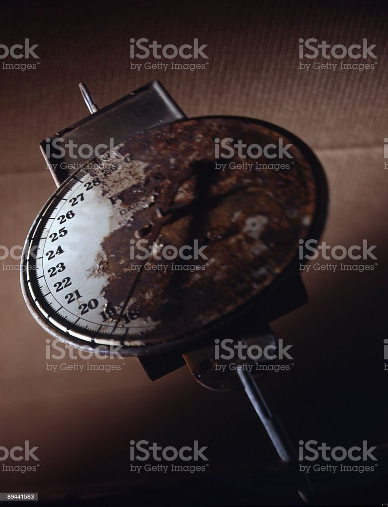 old scale royalty-free stock photo