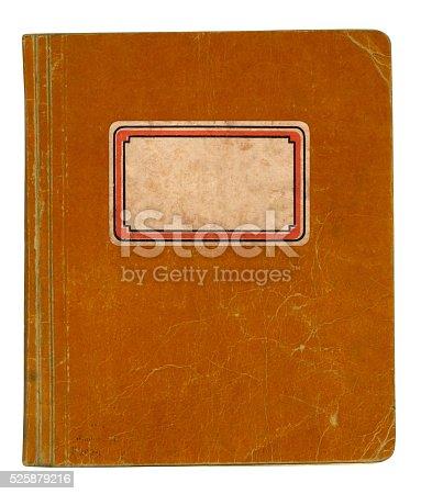 istock Old School Book 525879216