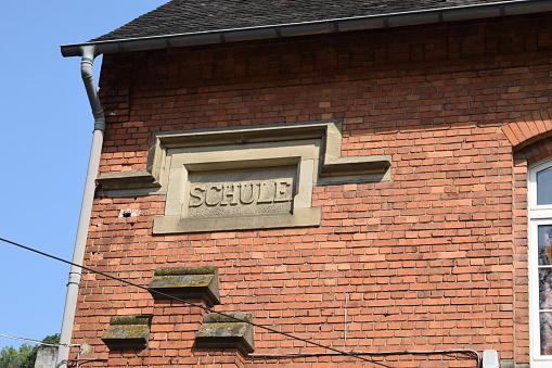 old school building in Germany
