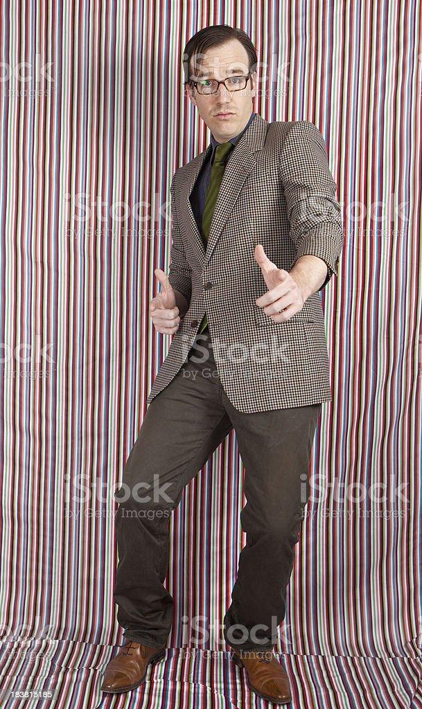 Old school businessman royalty-free stock photo