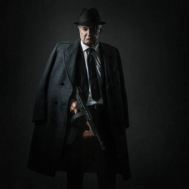 old school mobster - gangster zdjęcia i obrazy z banku zdjęć