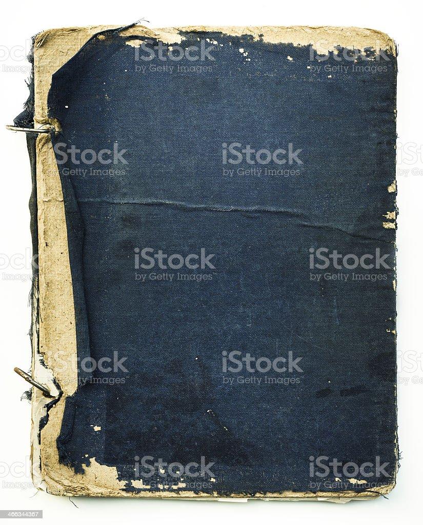 old school notebook binder royalty-free stock photo