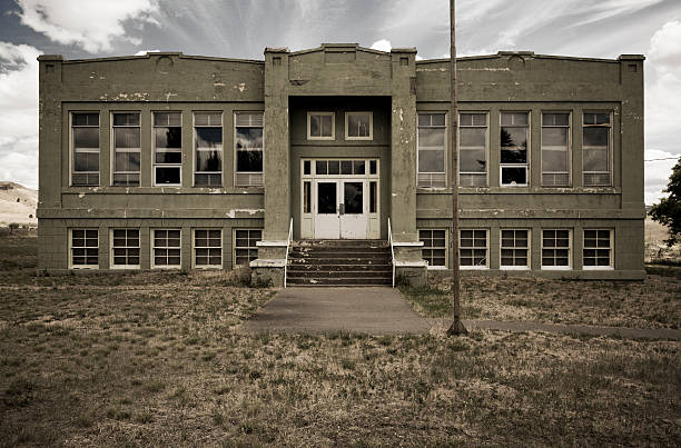old school - dilapidated stock pictures, royalty-free photos & images
