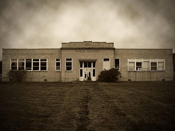Old School stock photo