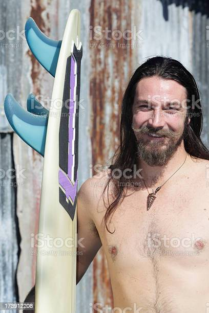 Old School Surfer Stock Photo Download Image Now Istock