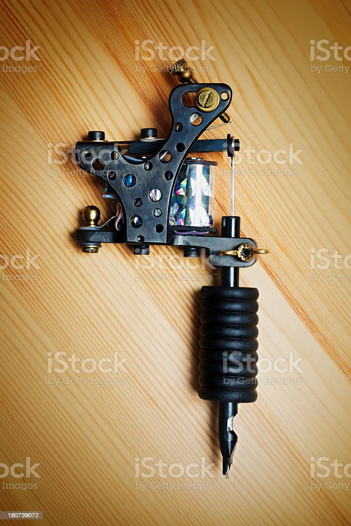 Old School Tattoo Machine Stock Photo & More Pictures of Alternative ...