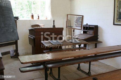 istock Old Schoolroom 144339111