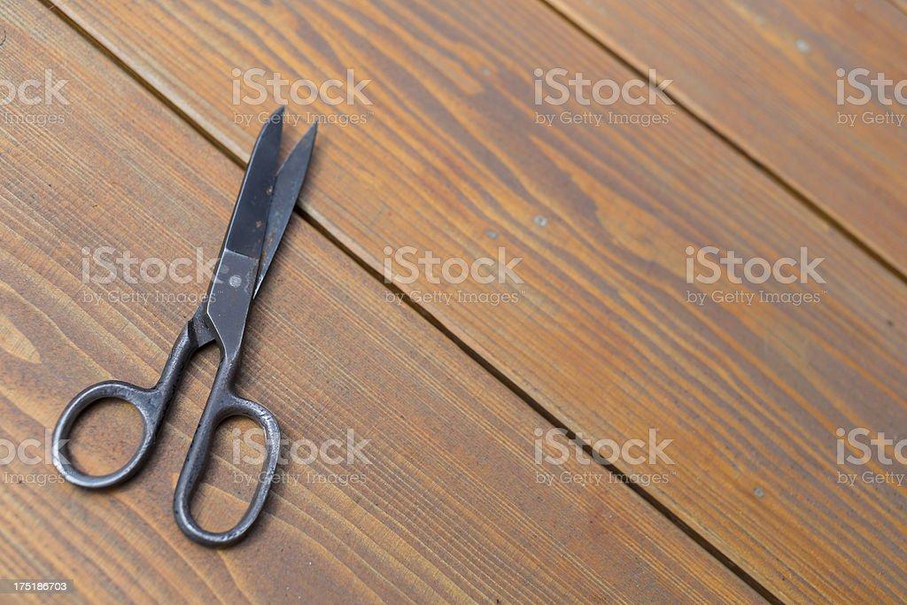old scissors royalty-free stock photo