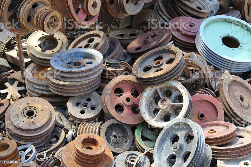 old scrap royalty-free stock photo